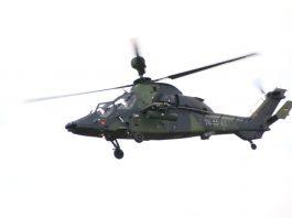 Hubschrauber Tiger der Bundeswehr.