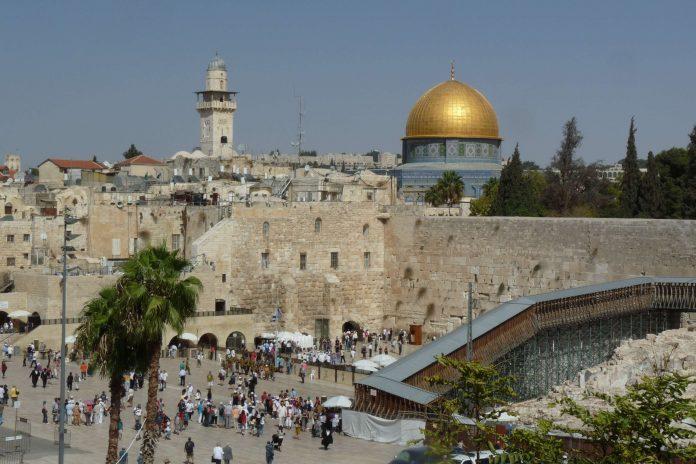 Jerusalem, Hauptstadt von Israel.