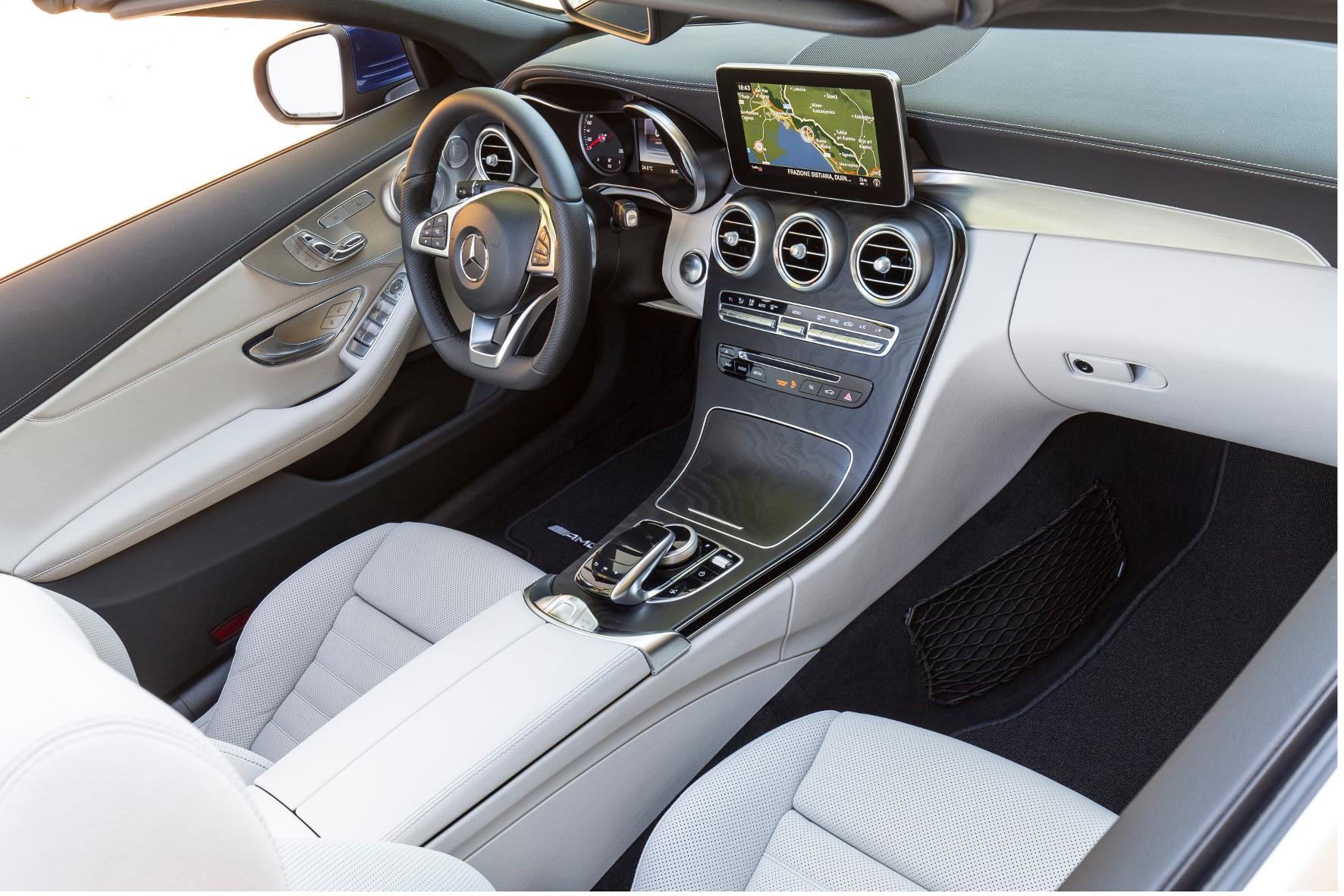 Mercedes Benz C Klasse Cabrio Interieur Cockpit Qf 2016 05 22