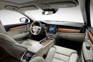 Interior cockpit Volvo S90/V90 blond © Volvo