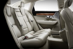 Interior Rear Seats Volvo S90 © Volvo
