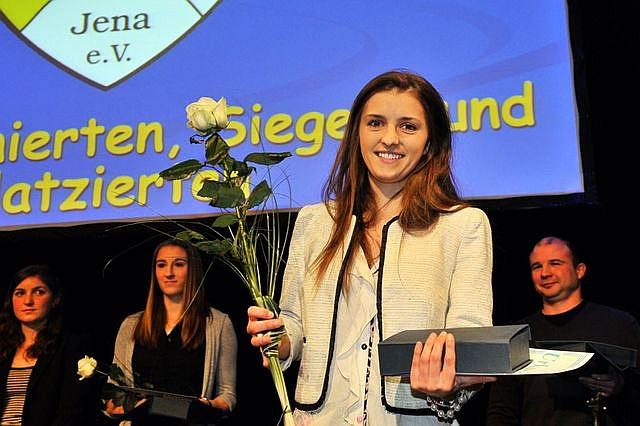 Iva Landeka – Sportlerin des Jahres 2013 der Stadt Jena