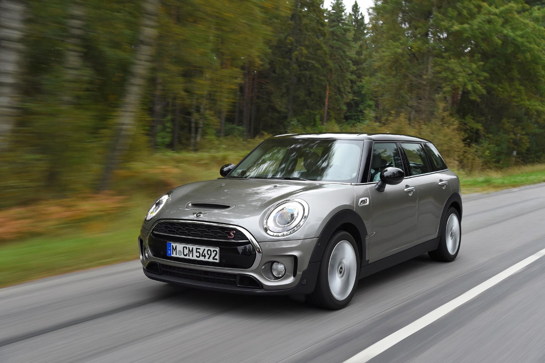 Cooles Gefährt: der neue Mini Clubman - Das Fahrzeug hat an ...
