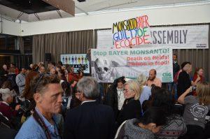 Impression vom Monsanto-Tribunal in Den Haag, 2016-10-14. © Foto: Anabel Schnura, 2016