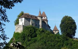 Prachtvolle Burg in Burgdorf. © Foto: Dr. Bernd Kregel