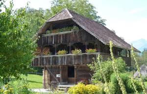 Tagelöhnerhaus im Freilichtmuseum Ballenberg. © Foto: Dr. Bernd Kregel