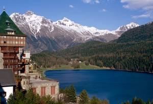 St. Moritz am See. © Foto: Elke Backert
