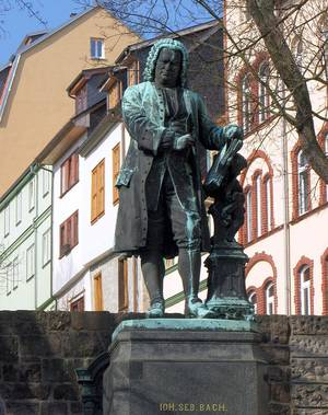 Johann Sebastian Bach. Denkmal. © WELTEXPRESS, Foto: HS