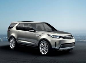 Land Rover Discovery Vision Concept © Jaguar Land Rover
