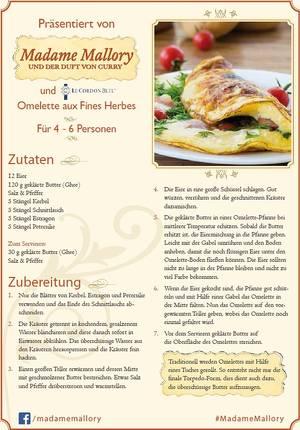 Das Rezept für ein Omelette - Hassan bittet Madame Mallory nach seiner Anleitung ein Omelette zu erstellen. © Constantin Film Verleih GmbH