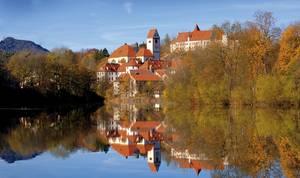 Stadtansicht von Füssen. © Füssen Tourismus