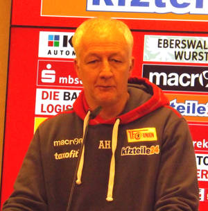 Der Trainer des Übergangs. © Foto: Hans-Peter Becker