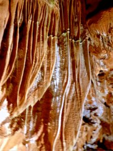 Eine Wahnsinns-Tropfsteinhöhle in der Ardèche. © 2016 Foto: Elke Backert