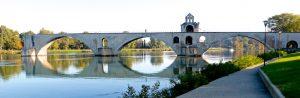Die berühmte Brücke von Avignon. © 2016 Foto: Elke Backert