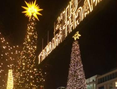 Weihnachtsmarkt am Breitscheidplatz in Berlin.
