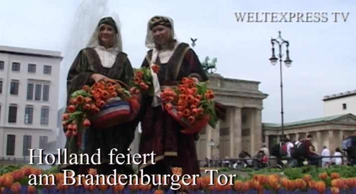 60 Jahre Keukenhof – Holland feiert Brandenburger Tor