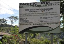 Firmenschild Pacific Rim