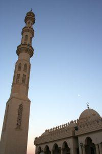 Moschee in Hurghada am Roten Meer. © 2012, Münzenberg Medien, Foto: Stefan Pribnow