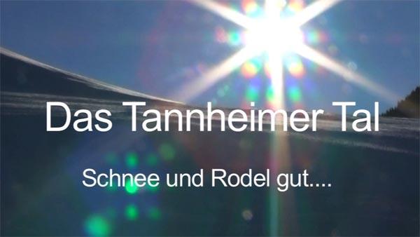 Das Tannheimer Tal – Schnee und Rodel gut