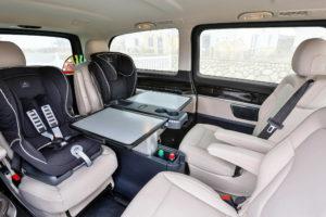Fahrvorstellung Sylt 2014; Die neue Mercedes-Benz V-Klasse – V 250 BlueTEC, AVANTGARDE, Exterieur, cavansitblau metallic, © Daimler