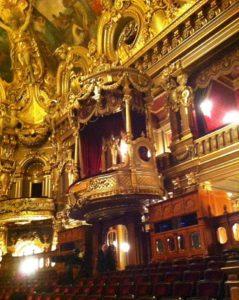 In der Opera de Monte Carlo Ende Februar 2017. © 2017, Foto: Midou Grossmann