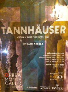 Tannhäuser 2017 in der Opera de Monte Carlo. © 2017, Foto: Midou Grossmann