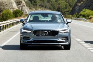 New Volvo S90 & V90 location driving. © Volvo