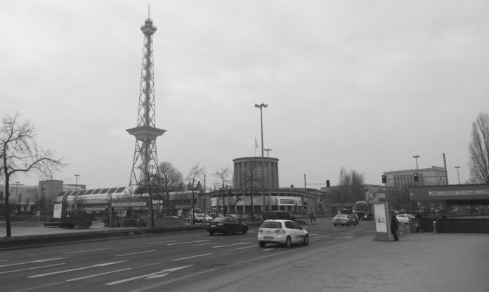 Der Funkturm.