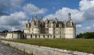 Seitenansicht des Schlosses Chambord. © 2011, Foto: Dr. Bernd Kregel