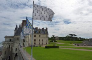 Schloss Amboise auf einer Felskante. © 2011, Foto: Dr. Bernd Kregel
