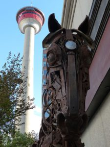 Der Calgary Tower. © Foto: Rainer Hamberger