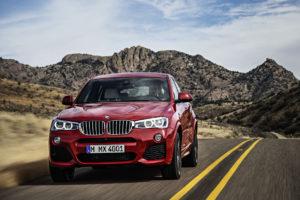Die Front des BMW X4. © BMW
