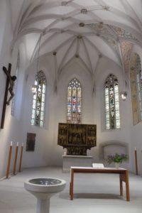 Luthers Taufkirche in Eisleben. © 2017, Foto: Bernd Kregel