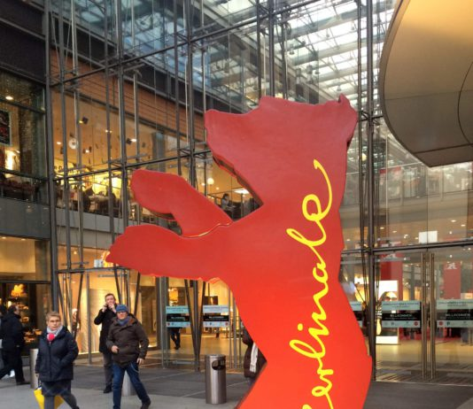 Ein Berlinale-Bär 2017 in Berlin