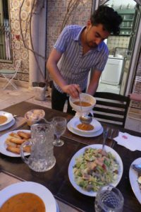 Tunesische Küche in der Medina von Tunis. © 2017, Foto/BU: Dr. Bernd Kregel