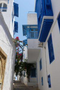 Schmale Gasse in der Medina von Tunis. © 2017, Foto/BU: Dr. Bernd Kregel