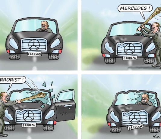 Erdogan und der Daimler.