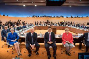 Staats- und Regierungschefs vor der Auftaktsitzung des G20-Gipfels am 7. Juli 2017 in Hamburg. BU: Stefan Pribnow, Quelle/Foto: Bundesregierung/Bergmann