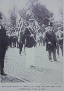 Parade in Washington DB mit Praesident Wilson