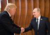 Trump und Putin auf dem Gipfel der G20 in Hamburg.