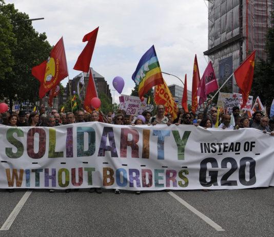 Grenzenlose Solidarität statt G20