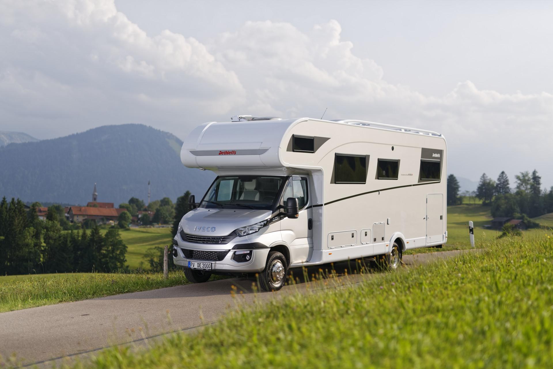 Dethleffs Bietet Caravans Und Reisemobile Für Junge Leute