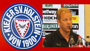 Kiels Trainer Markus Anfang Foto: Hans-Peter Becker