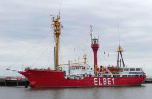 "Elbe 1 an der ""Alten Liebe"" in Cuxhaven. © 2017, Foto/BU: Dr. Bernd Kregel"