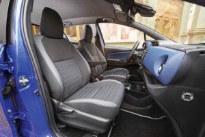 Ein Blick in den neuen Toyota Yaris. BU: Stefan Pribnow, Bild: © Toyota