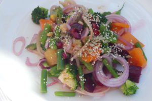 Lecker zubereiteter Salat. © 2016, Foto: Dr. Bernd Kregel