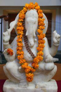 Dekorierter Ganesha als Glücksbringer. © 2016, Foto: Dr. Bernd Kregel