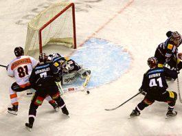 Eisbären Berlin gegen Grizzlys Wolfsburg