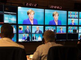 Angela Merkel und Martin Schulz.