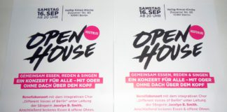 Open House - Benefizkonzert in Berlin